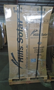 Qty 4 Hills Solar/Electric Hot Water Sto