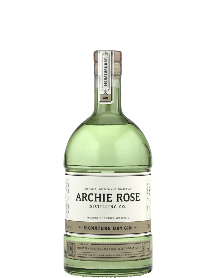 Archie Rose Distilling Co. Signature Dry Gin (1x 700mL). Aus