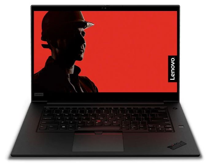Lenovo ThinkPad P1 2nd Gen 15.6-inch Notebook, Black
