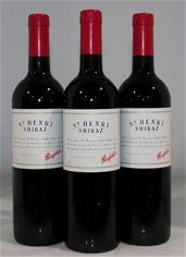 Penfolds St Henri Shiraz 2001 (3x 750mL), SA.