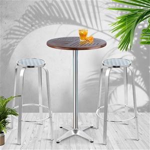 Gardeon Outdoor Bistro Set Bar Table Sto