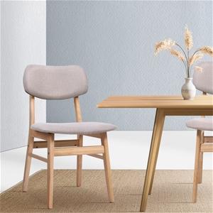 Artiss x2 Dining Chairs Retro Replica Ki