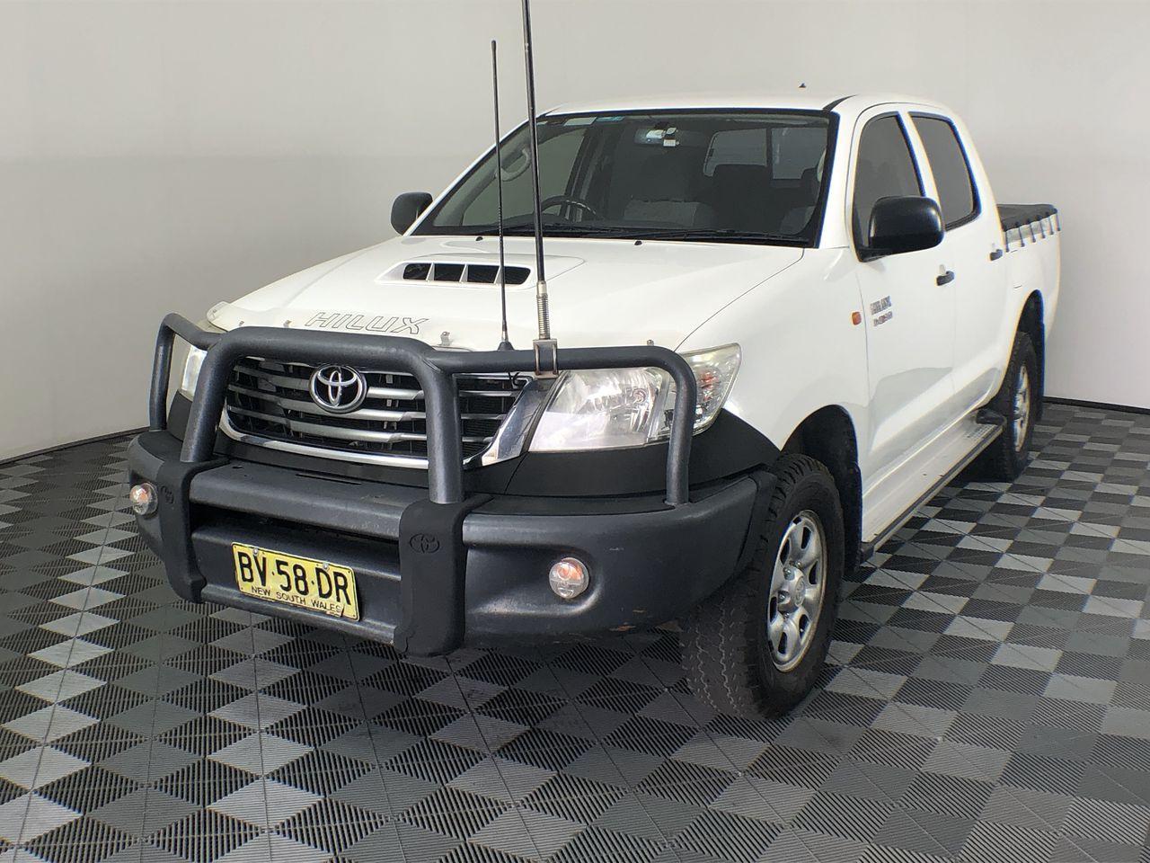 Ex-Corporate 2011 Toyota Hilux SR (4x4) KUN26R Turbo Diesel Manual Dual Cab
