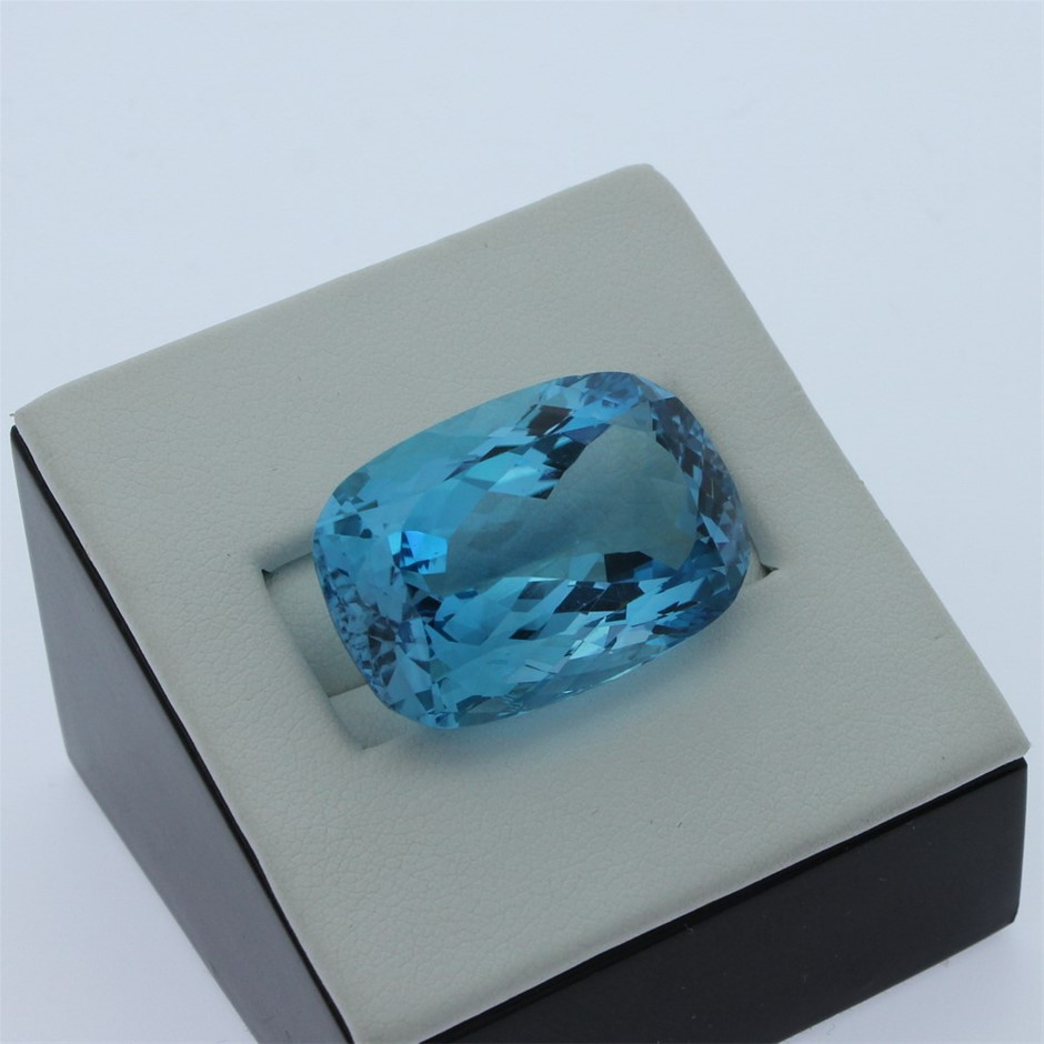 One Loose Blue Topaz 31.10ct in Total