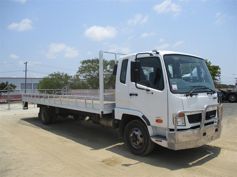 2017 Mitsubishi Fuso FK600 4 x 2 Tray Body Truck