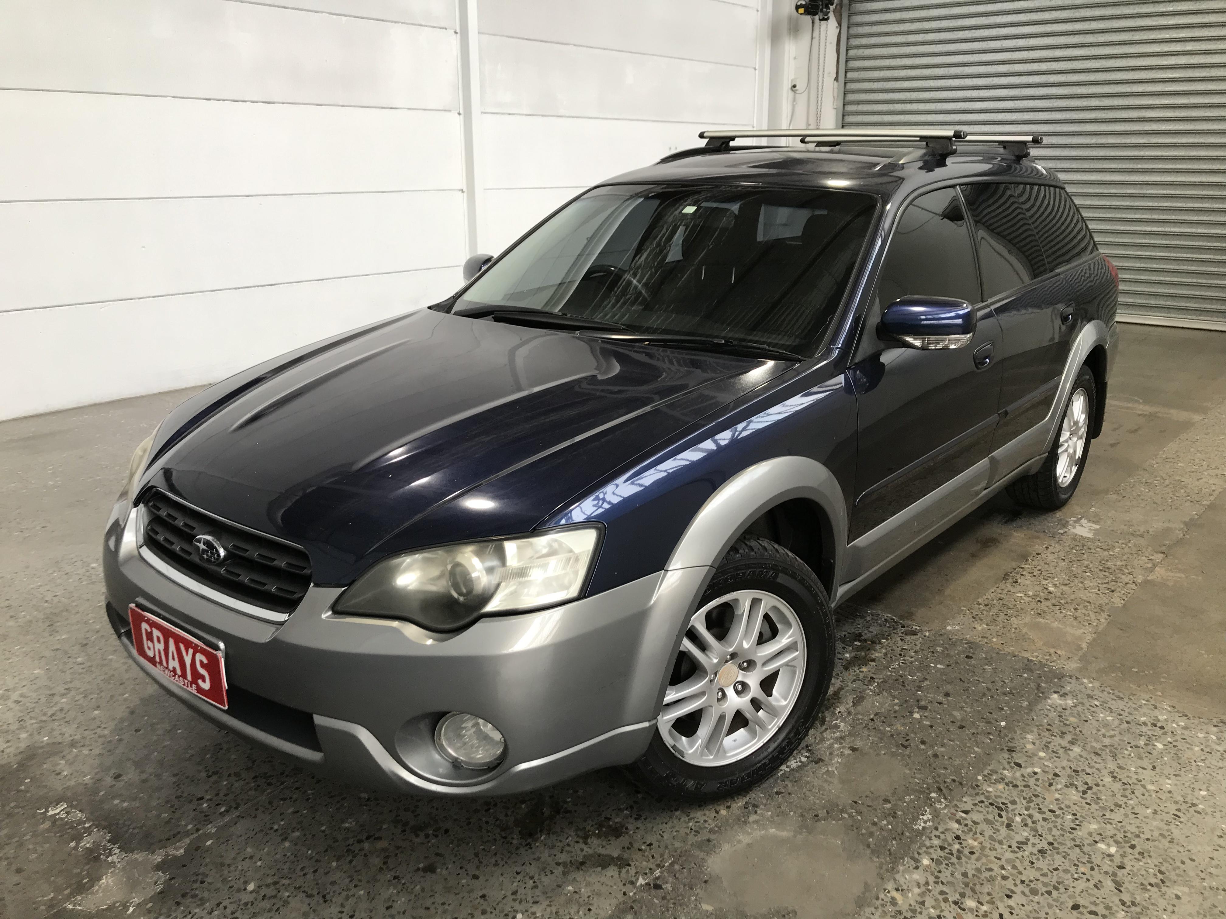 2006 Subaru Outback 2.5i B4A Manual Wagon