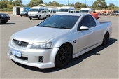 Unreserved 2008 Holden Commodore SS VE Manual Ute