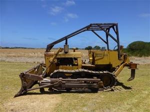 Case 850 Track Dozer, approx  1986 (Goolwa, SA)