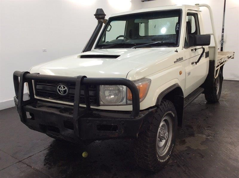 2011 Toyota Landcruiser Workmate 4WD Manual - 5 Speed Cab Chassis