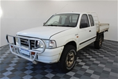 Unreserved 2003 Ford Courier XL Xtra Cab 4x4 PG T/ Dsl Man