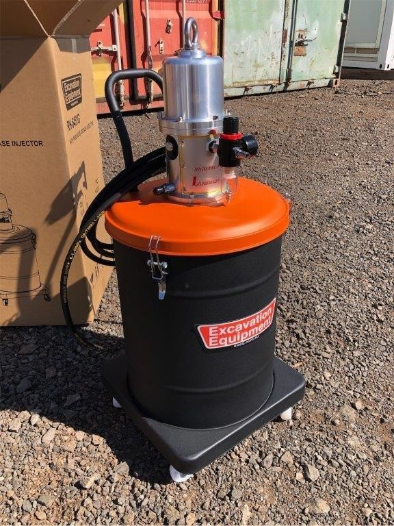 2019 Unused 40 Litre Grease Injector