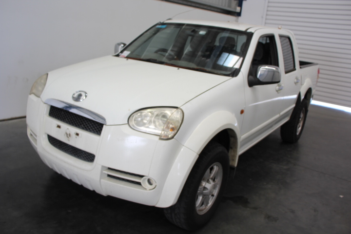 2009 Great Wall V240 4WD Dual Cab