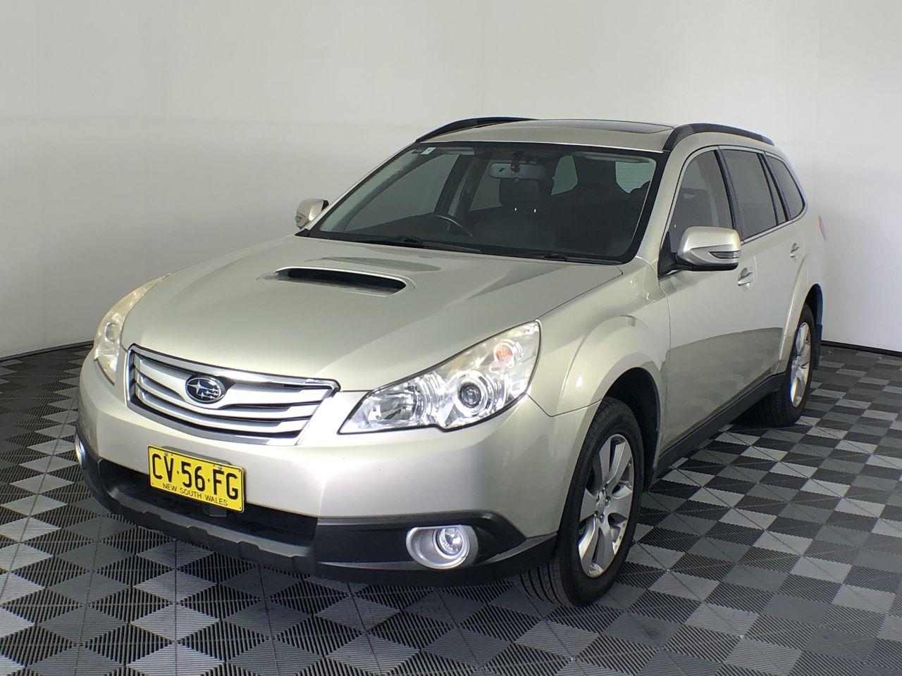2010 Subaru Outback 2.0D Premium B5A Turbo Diesel Manual Wagon