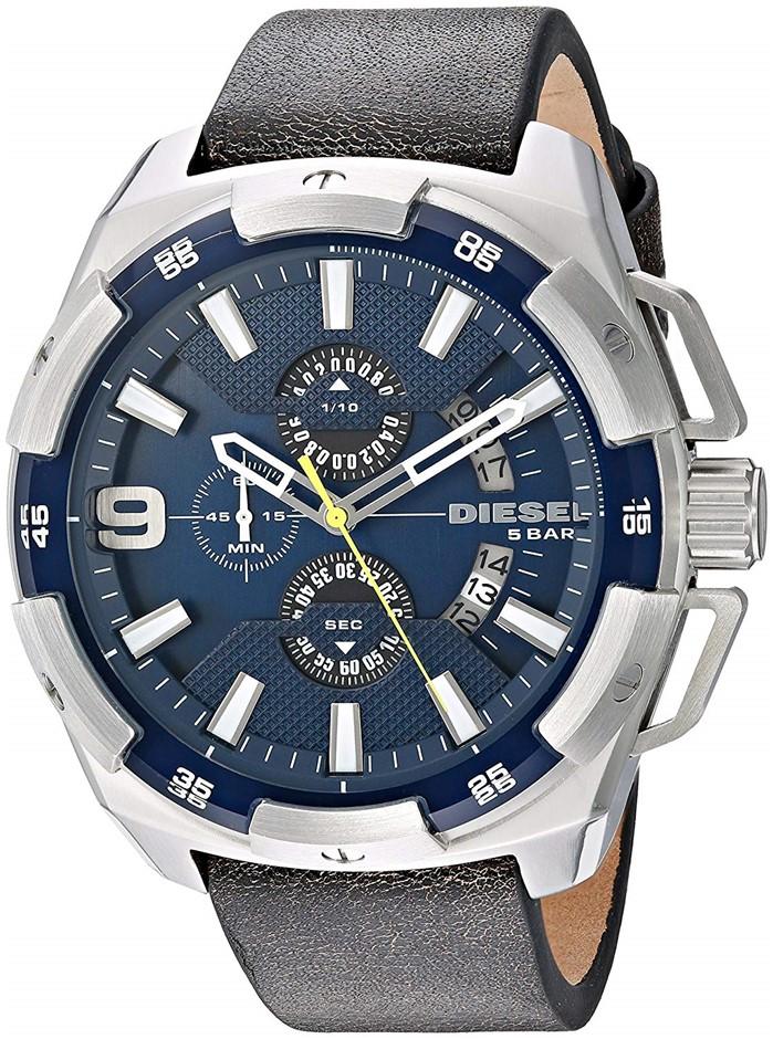 On trend new Diesel Heavyweight Men's Chronograph Watch