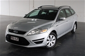 Unreserved 2012 Ford Mondeo LX TDCi MC Turbo Diesel Auto