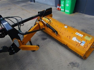 2014 Muthing MU-H 200 Offset Flail Mower