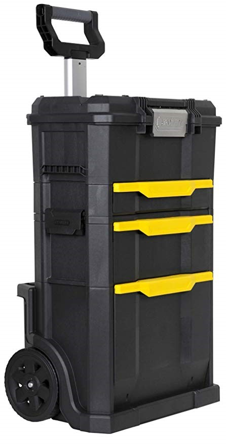 STANLEY Modular Trolley Case 86 x 34 x 48cm with Telescopic Handle, Side Cl