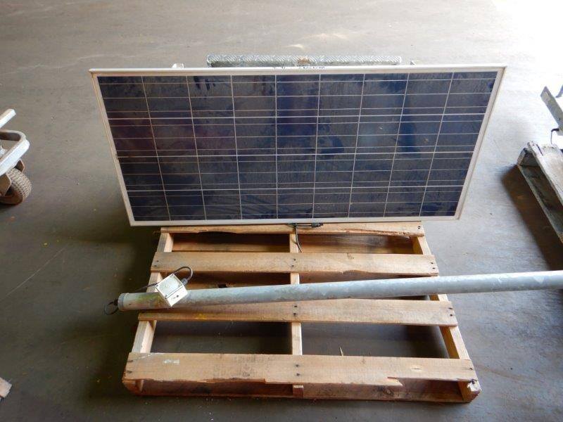 Solar Panel and Frame