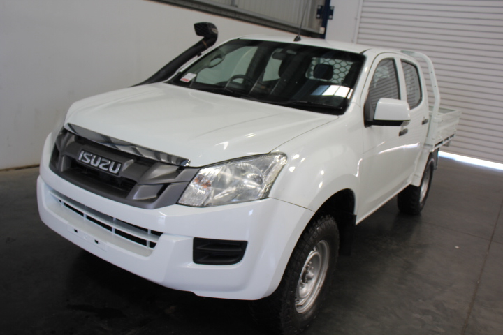 2015 MY16 Isuzu D-MAX SX Hi-Ride Auto 4WD 122,245 km's