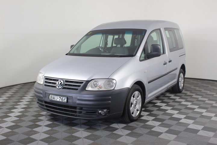 2006 Volkswagen Caddy Life 1.9 TDI T/Diesel Auto 7 Seats People Mover