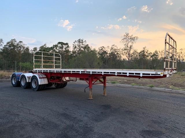 Haulmark 5T3 Semi Triaxle Flat Top Trailer