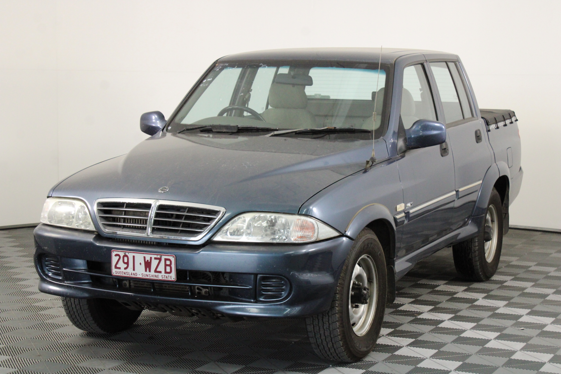 2004 Ssangyong Musso 4x4 Turbo Diesel Automatic Ute