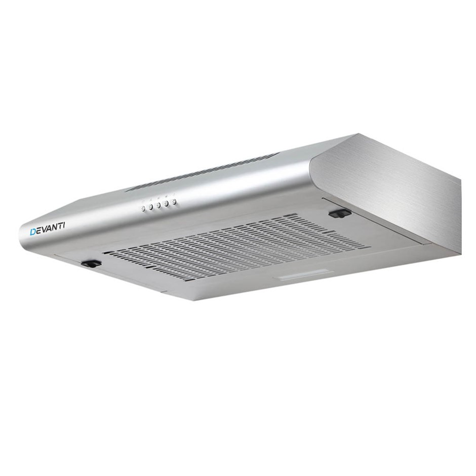 Devanti Fixed Rangehood Stainless Steel Kitchen Canopy 60cm 600mm