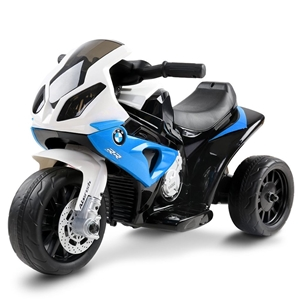 Rigo Kids Ride On BMW Motorbike - Blue