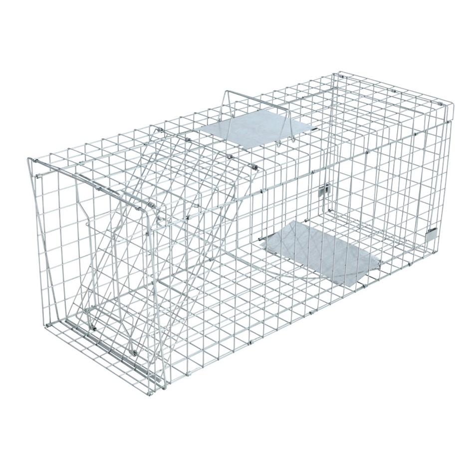 XXL Large Humane Animal Trap Cage Possum Fox Koala Rabbit Bird Cat
