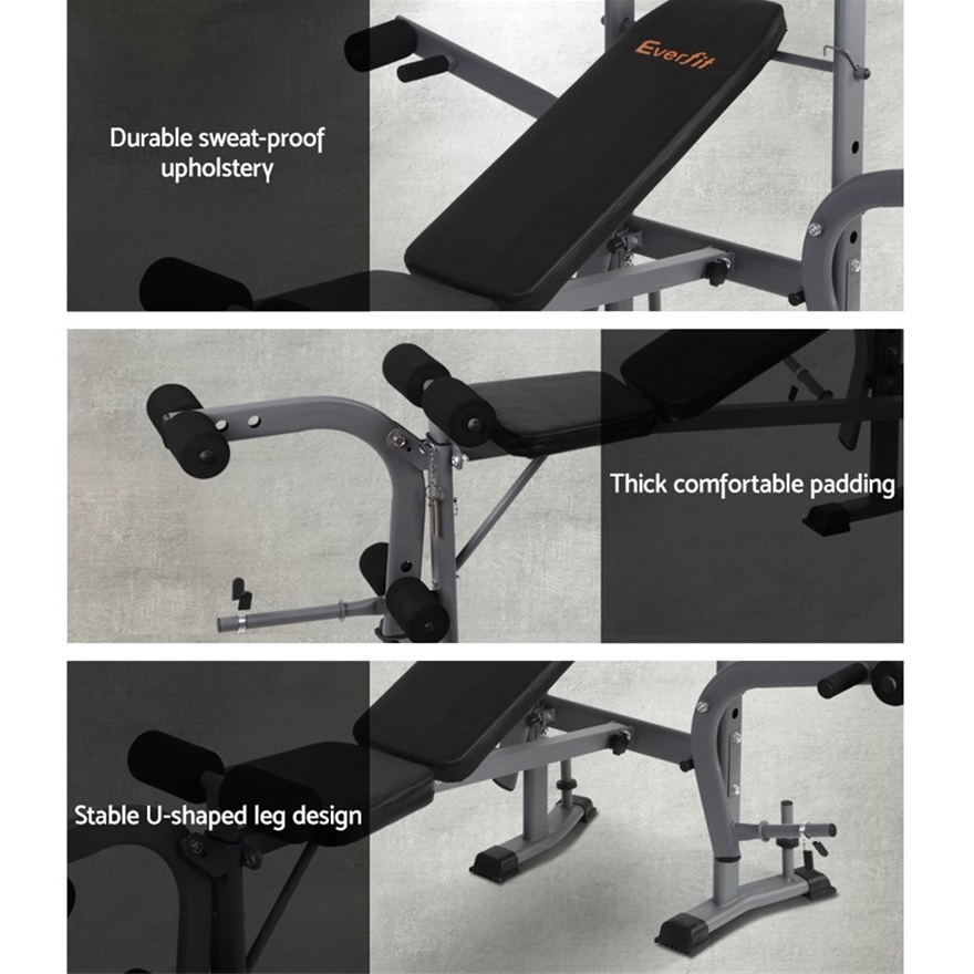 Buy Everfit Multi-Station Weight Bench Press Weights ...