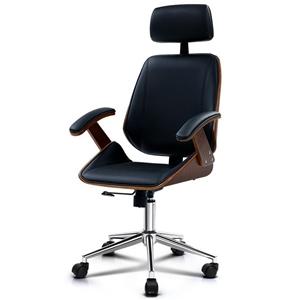 Artiss Wooden Office Chair Computer Gami
