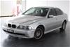 2002 BMW 5 30i Executive E39 Automatic Sedan