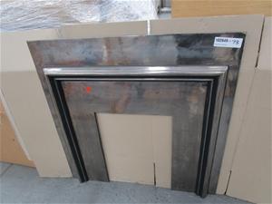 Agnews 700 D30 Cast Iron Fireplace Surro