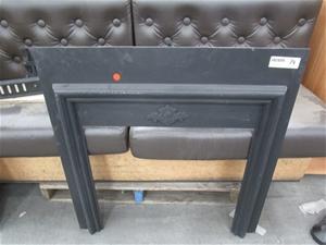 Agnews 700 D50 Cast Iron Fireplace Surro