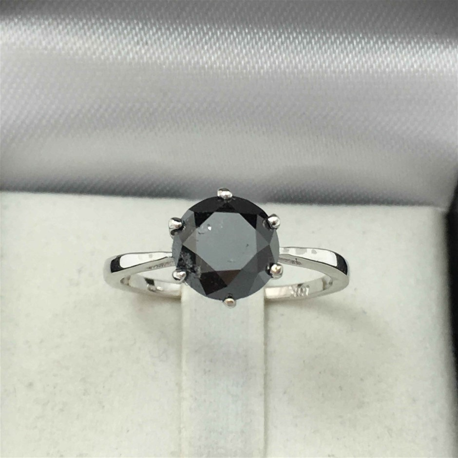 18ct White Gold, 2.44ct Diamond Engagement Ring