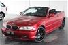 2004 BMW 3 30Ci E46 Automatic Convertible