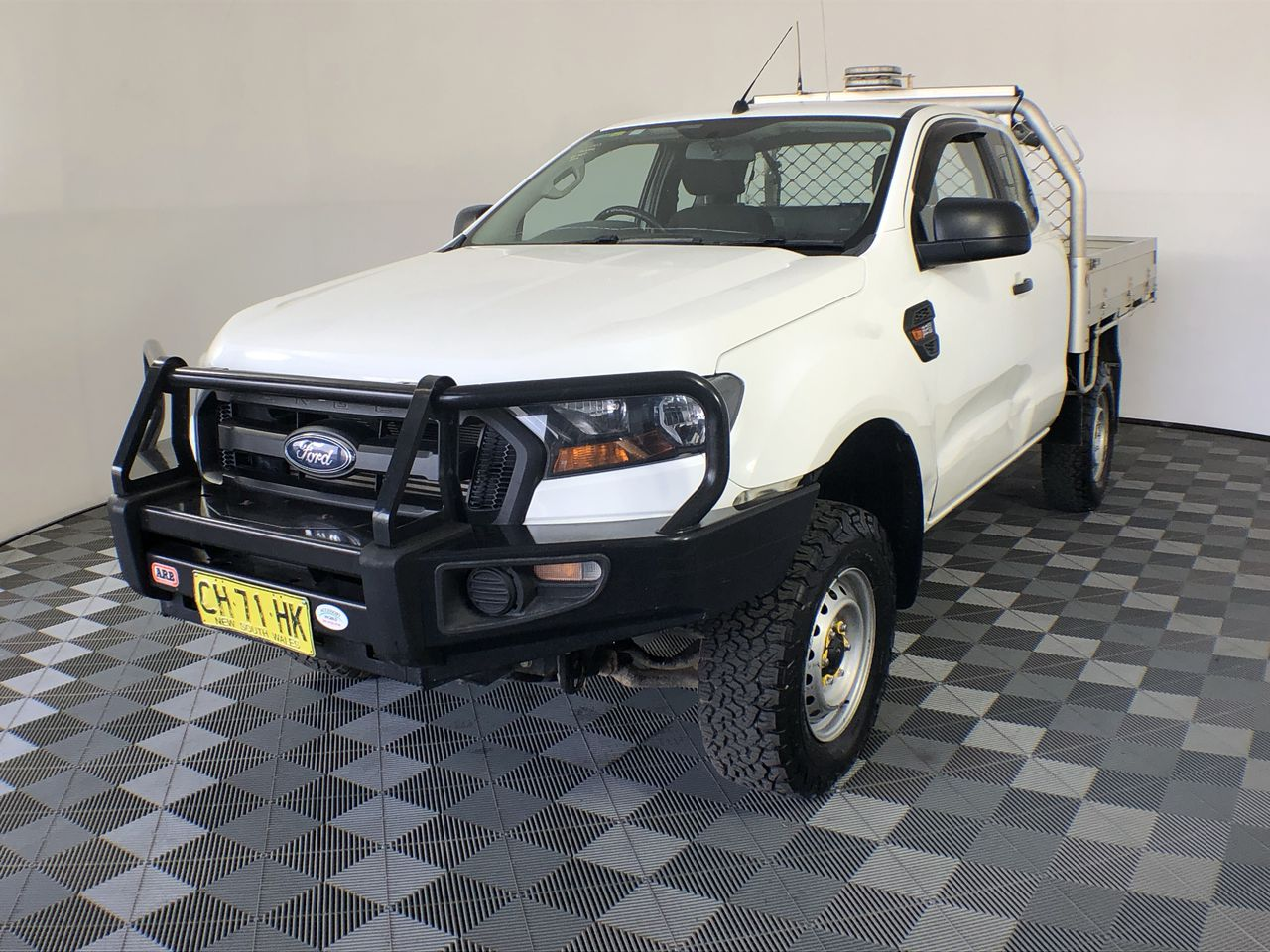 Ex-Government 2015 Ford Ranger XL 4X4 PX II Turbo Diesel Manual Extra Cab