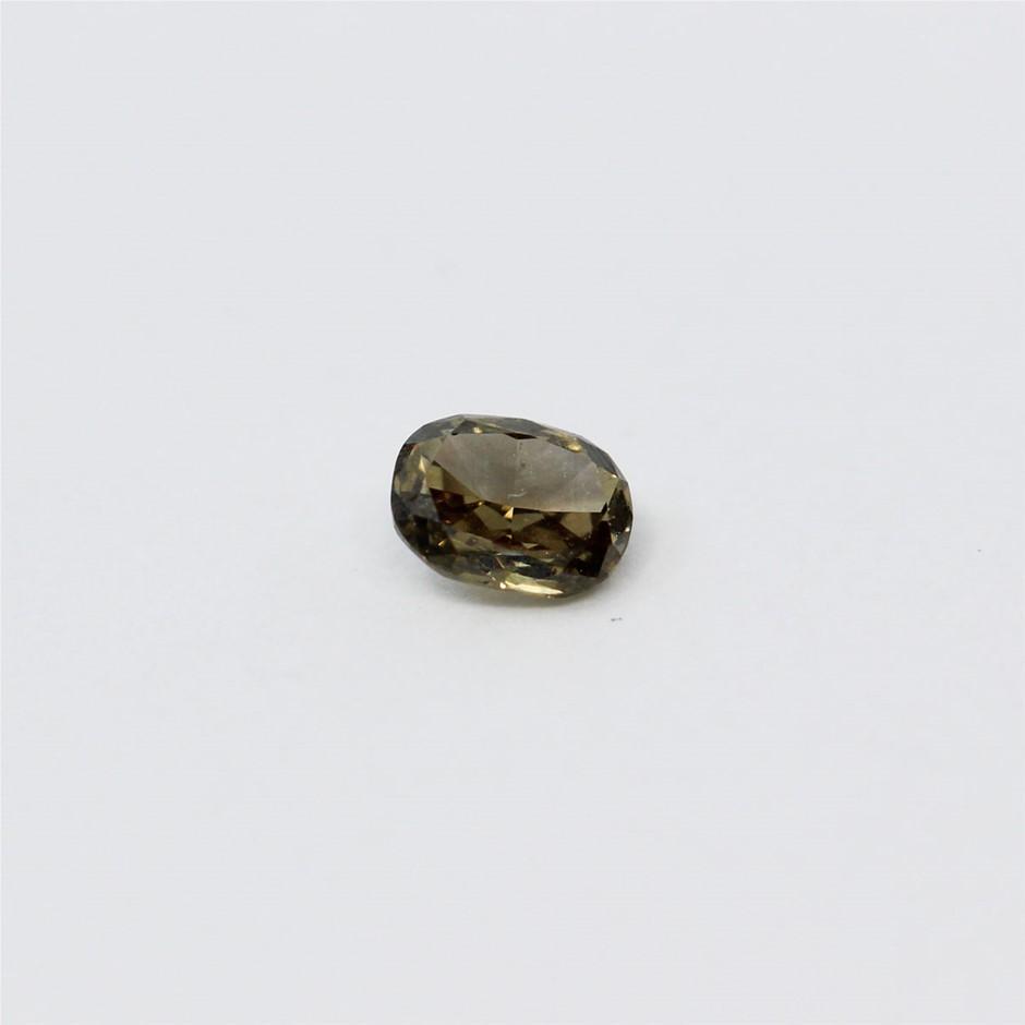 0.15 ct Cognac Diamond