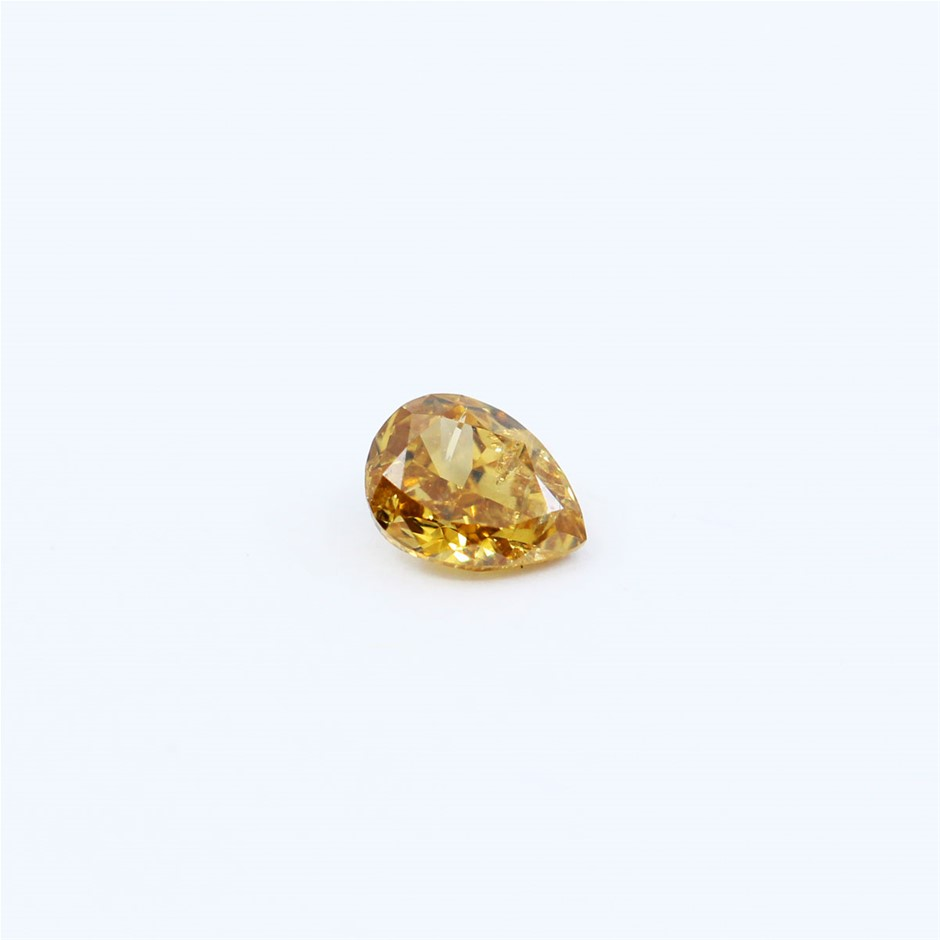0.10 ct Fancy Yellow Diamond