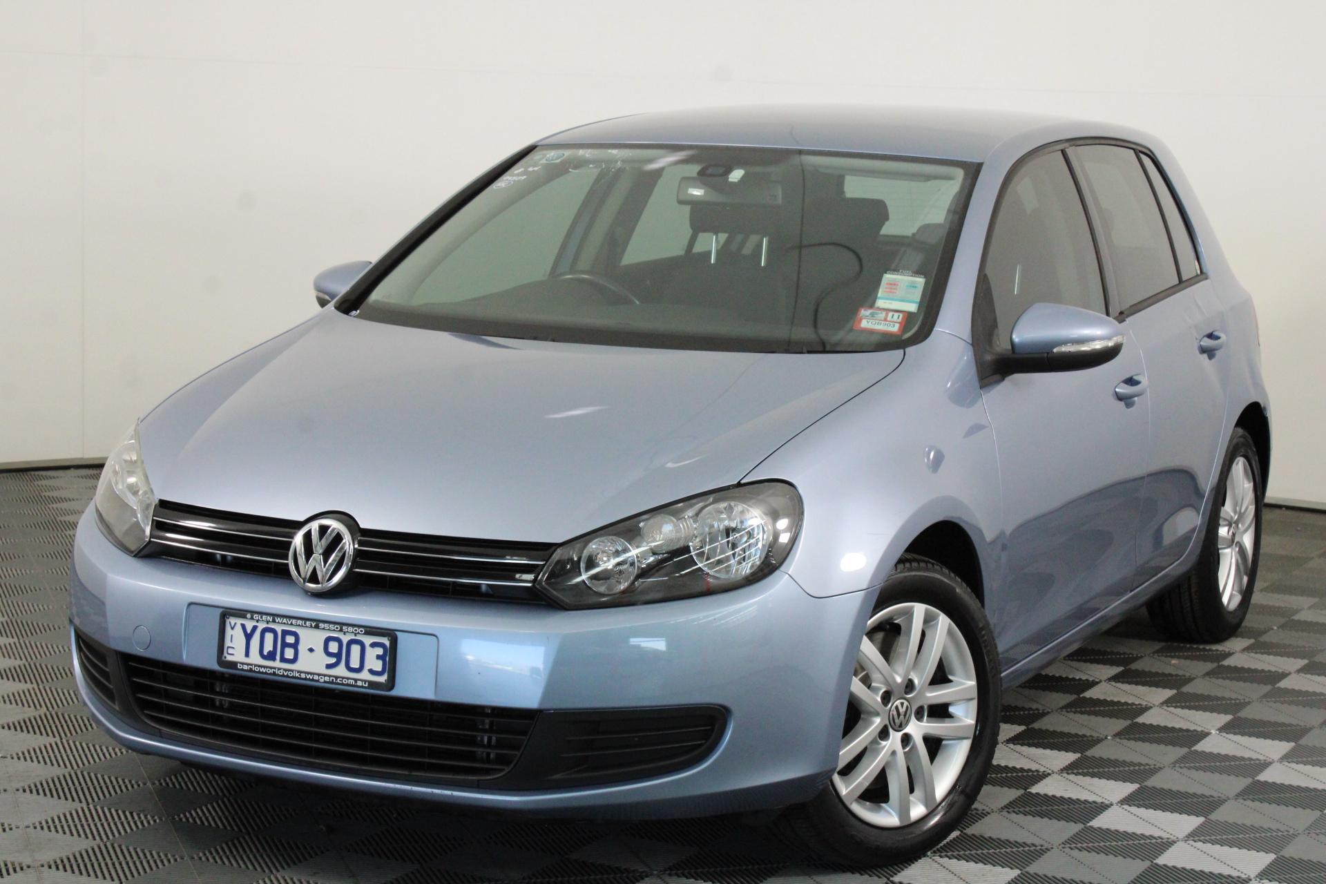 2011 Volkswagen Golf 118TSI Comfortline A6 Automatic Hatchback