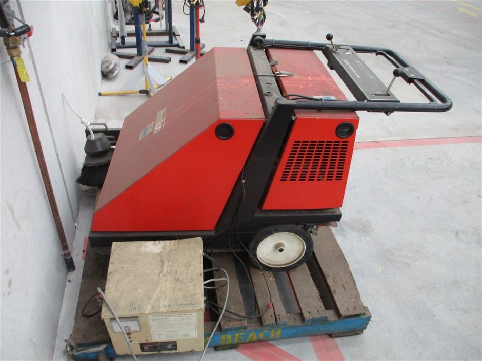 1x Hako Electric Floor Sweeper