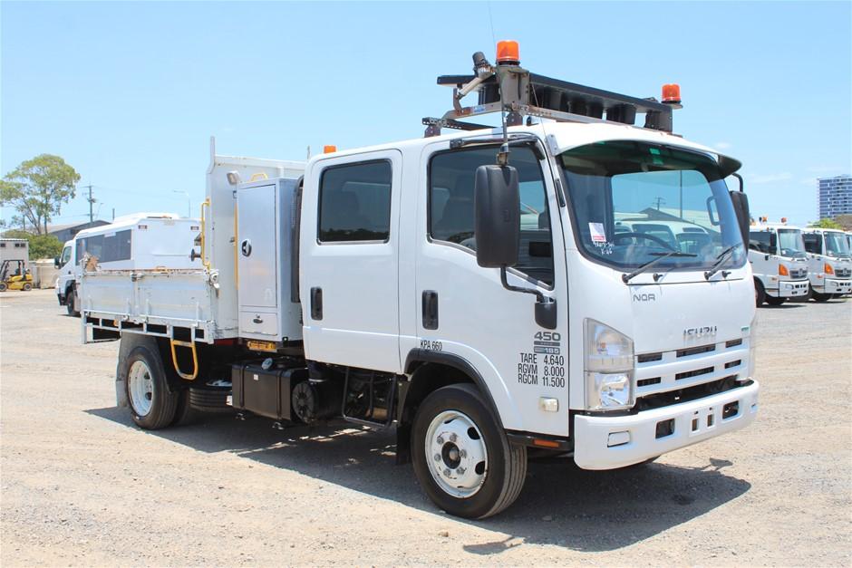 2011 Isuzu NQR450 Turbo Diesel Tipper Truck (Ex Gov)