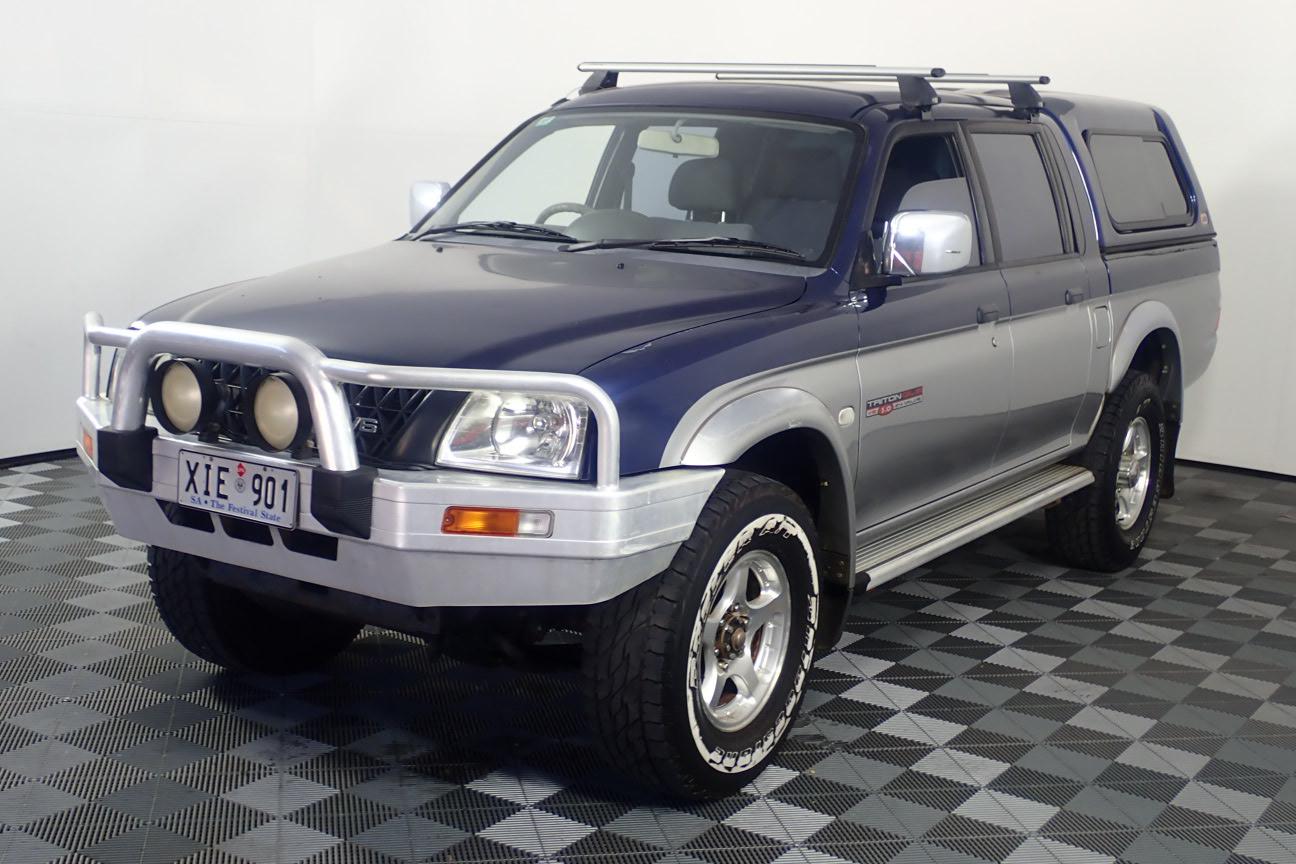 2001 Mitsubishi Triton GLS (4x4) MK Automatic Dual Cab