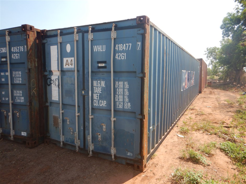 40 Foot Shipping Container Standard