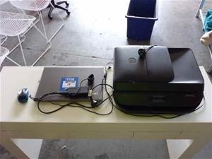 Lenovo/HP Idea Pad 520 Laptop and Printe