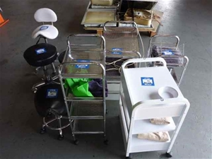 Qty 8 x Pedestals and Chairs