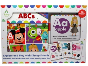 DISNEY Baby First Look and Find Book, In