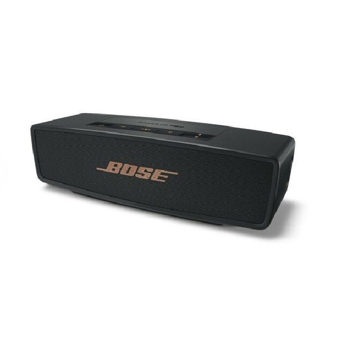 BOSE SoundLink Mini II Wireless Bluetooth Speaker, Black/Copper. N.B. Has b
