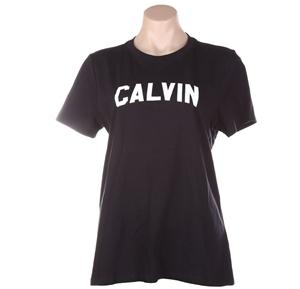 CALVIN KLEIN Women`s Varsity Tee, Size M