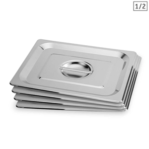 SOGA 4X Gastronorm GN Pan Lid Full Size